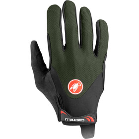 Castelli Arenberg Gel Long-Finger Gloves military green